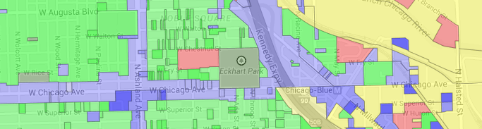 New zoning colors